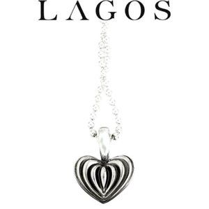 HOST PICK🎉LAGOS Fluted Heart Pendant Necklace
